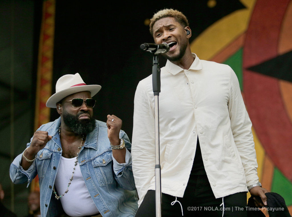 Usher and The Roots had Jazz Fest 2017 fans singing along