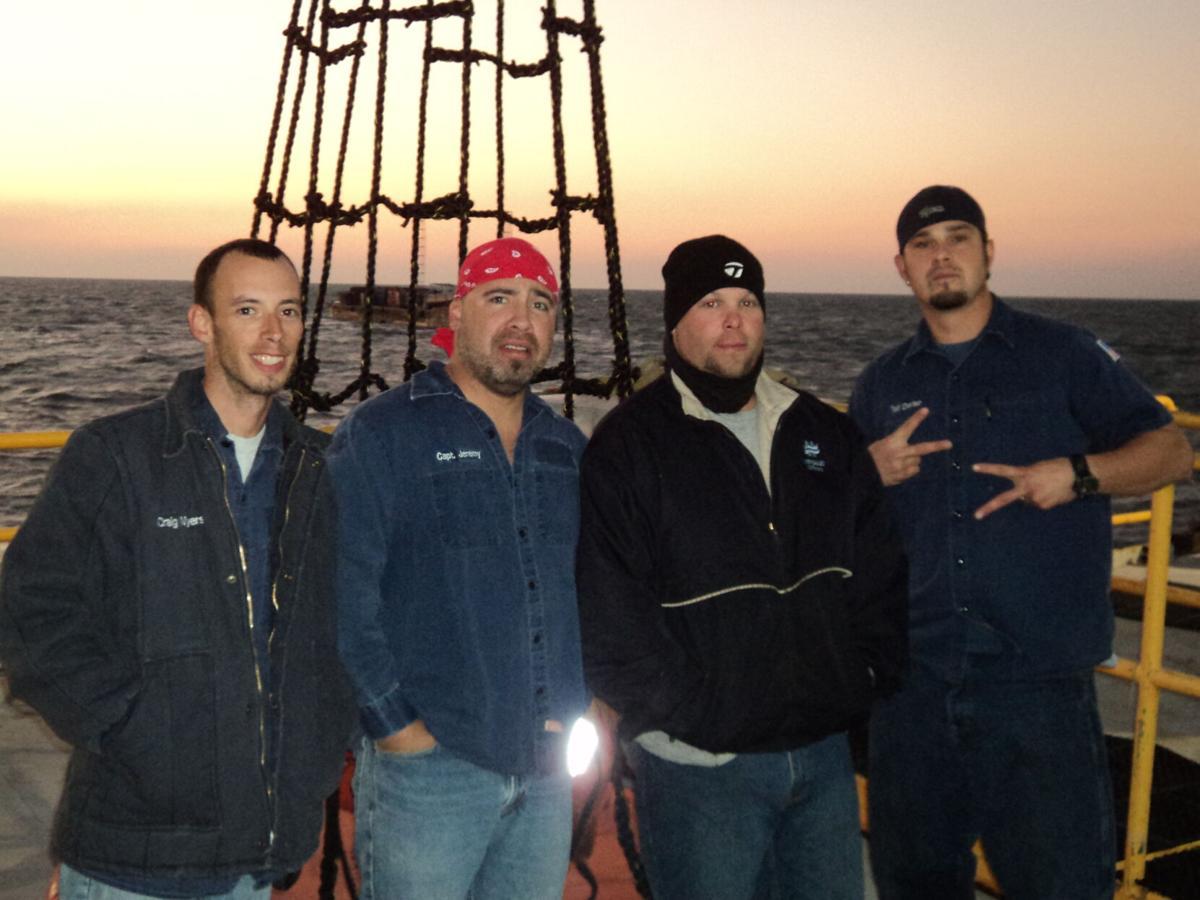 Craig Myers and Trinity II crew members