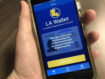 New app offers digital version of Louisiana driver's license