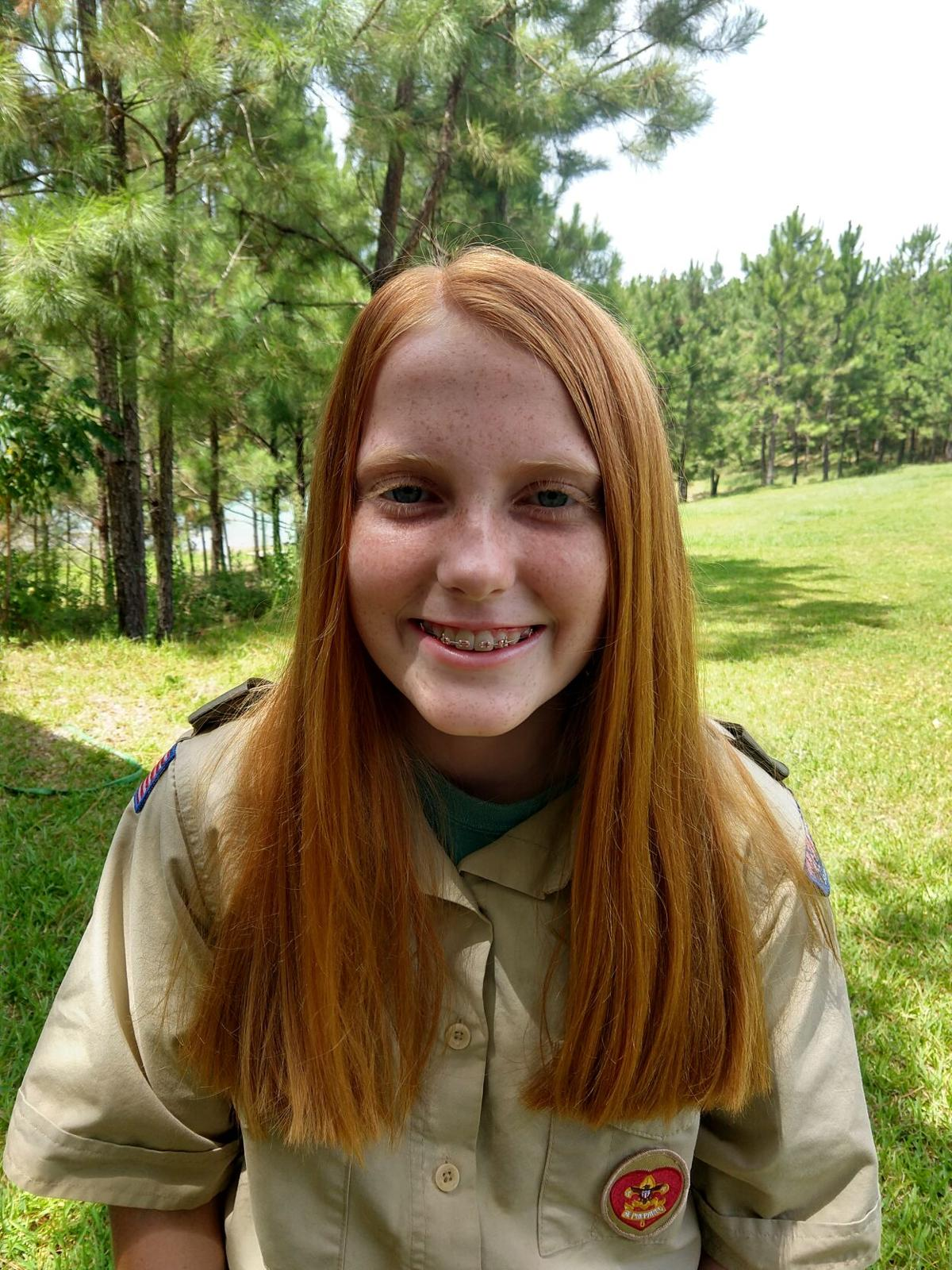 Eagle Scout Emily Staggemeier, Troop 8