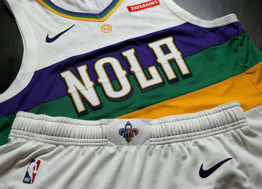 New Orleans Pelicans Unveil Mardi Gras Themed City Edition