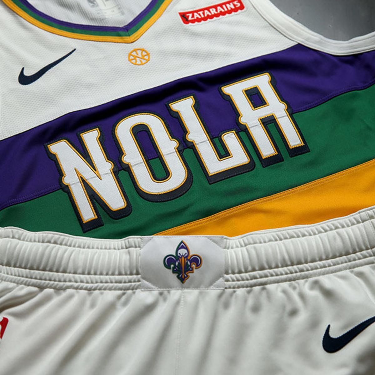New Orleans Pelicans Unveil Mardi Gras Themed City Edition