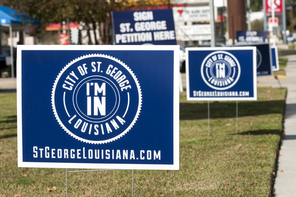 St. George, La.: One group's quest for a new city could determine the fate of metropolitan Baton Rouge