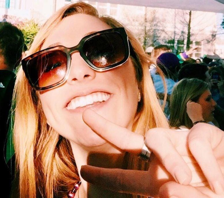 Jillian Clark selfie