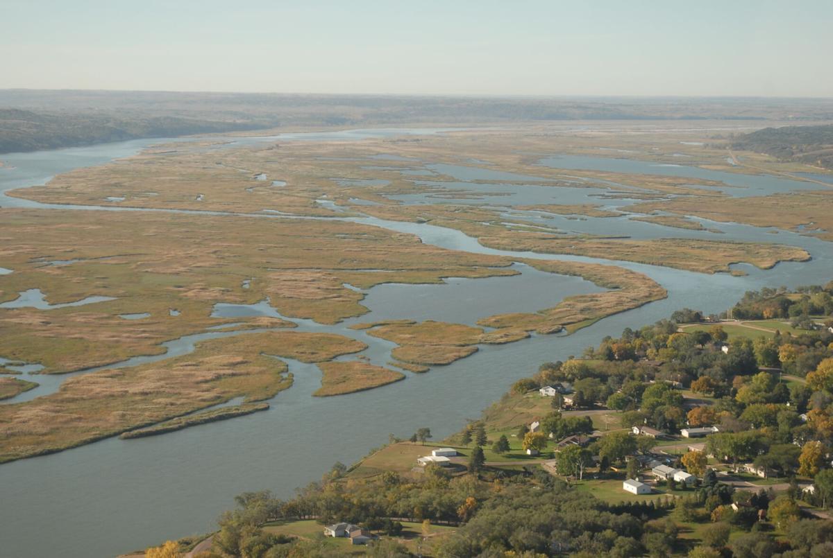 Missouri River sedimentation