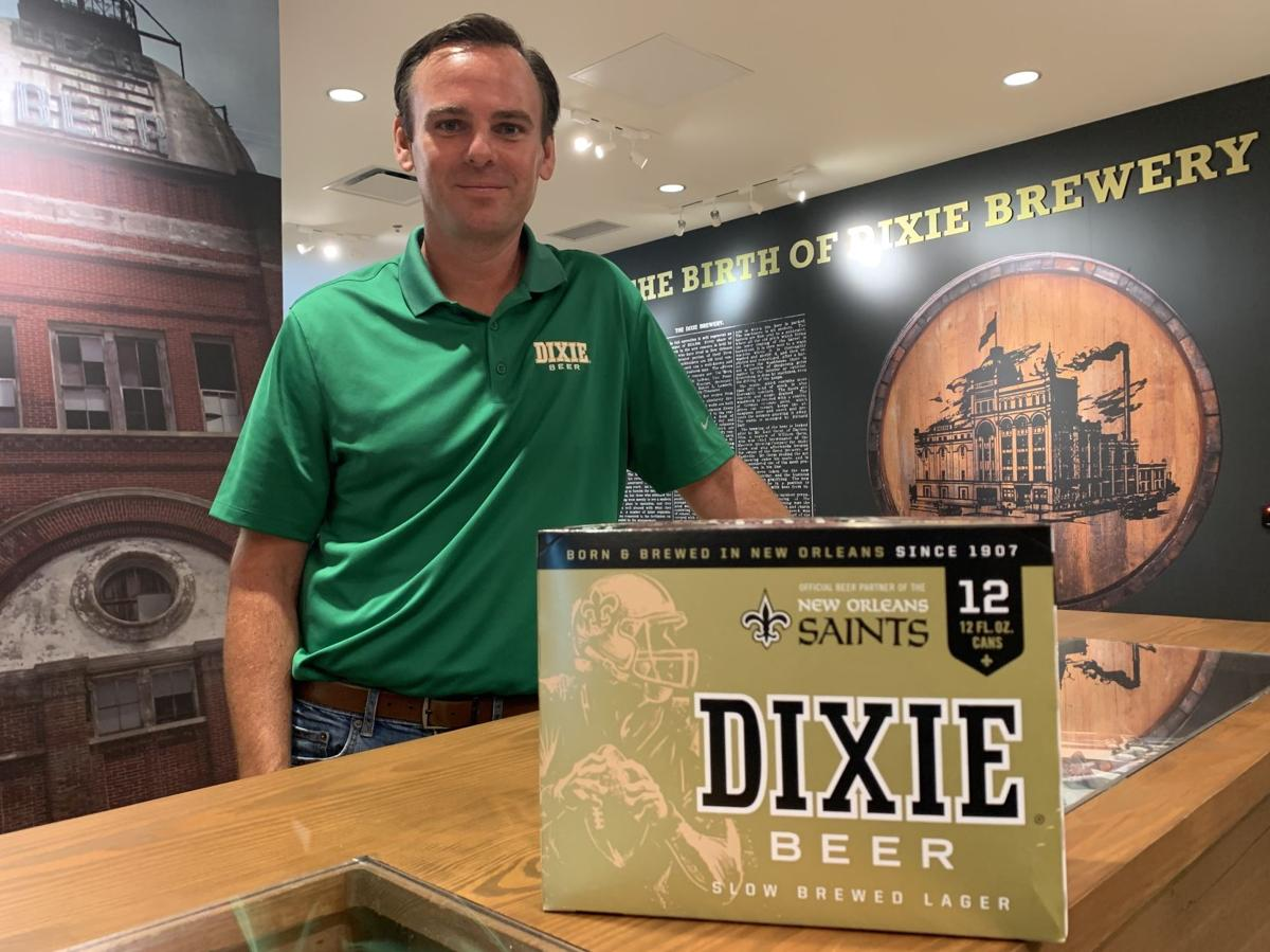 Dixie beer brewery general manager Jim Birch