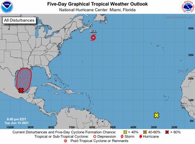National Hurricane Center 7 pm Tuesday