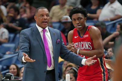 Hornets Pelicans Basketball