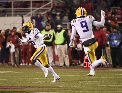 LSU's Kary Vincent Jr. clocks blazing time in 100-meter dash