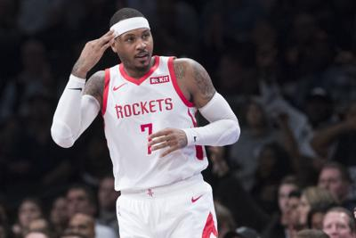 Carmelo Anthony's time with Houston 'over'; could Pelicans be next?