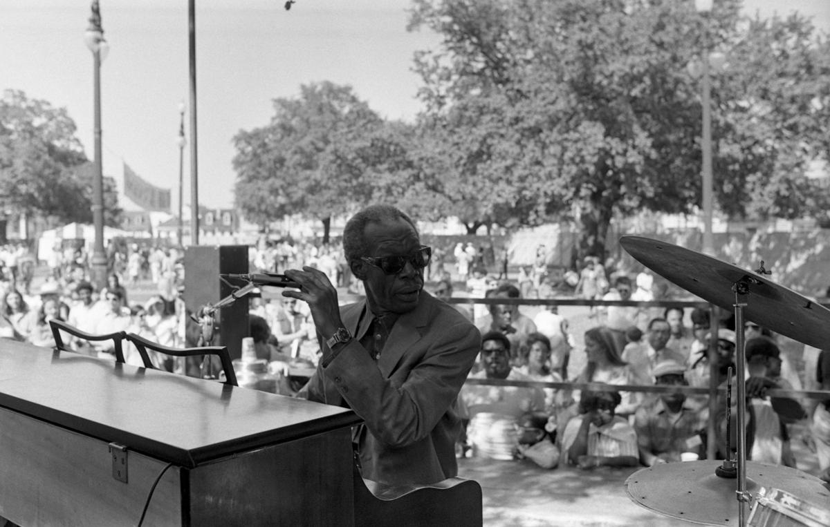 JF 2 Professor Longhair 1971 by John Messina, courtesy of the New Orleans Jazz & Heritage Archive.jpg