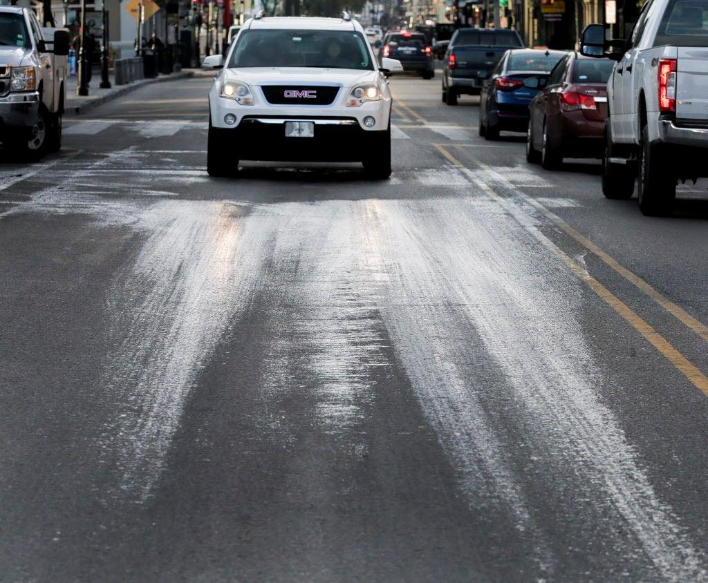 Decatur Street frozen