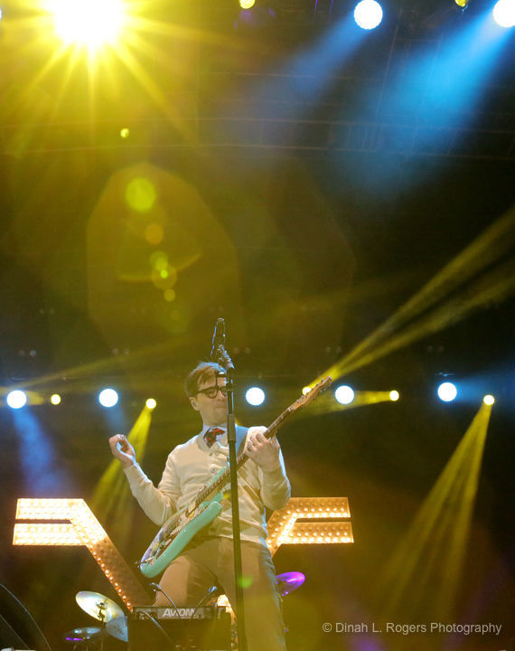 Weezer and The Pixies were happy together in New Orleans