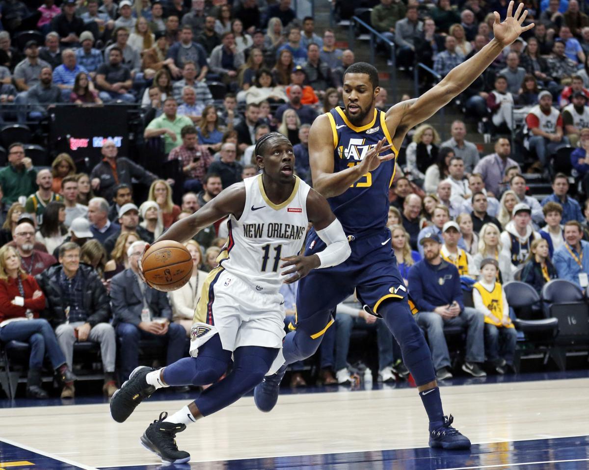 online store 9d1b9 9c766 Report: Pelicans plan to trade for Jazz center Derrick ...