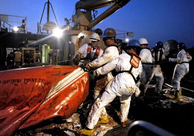 Coast Guard response to BP spill