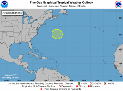Tropical weather May 19 7am