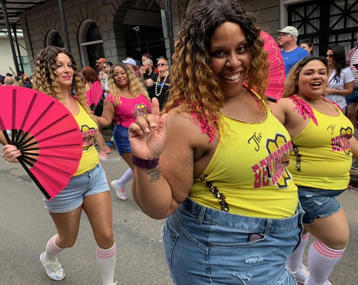The Beyjorettes dance group
