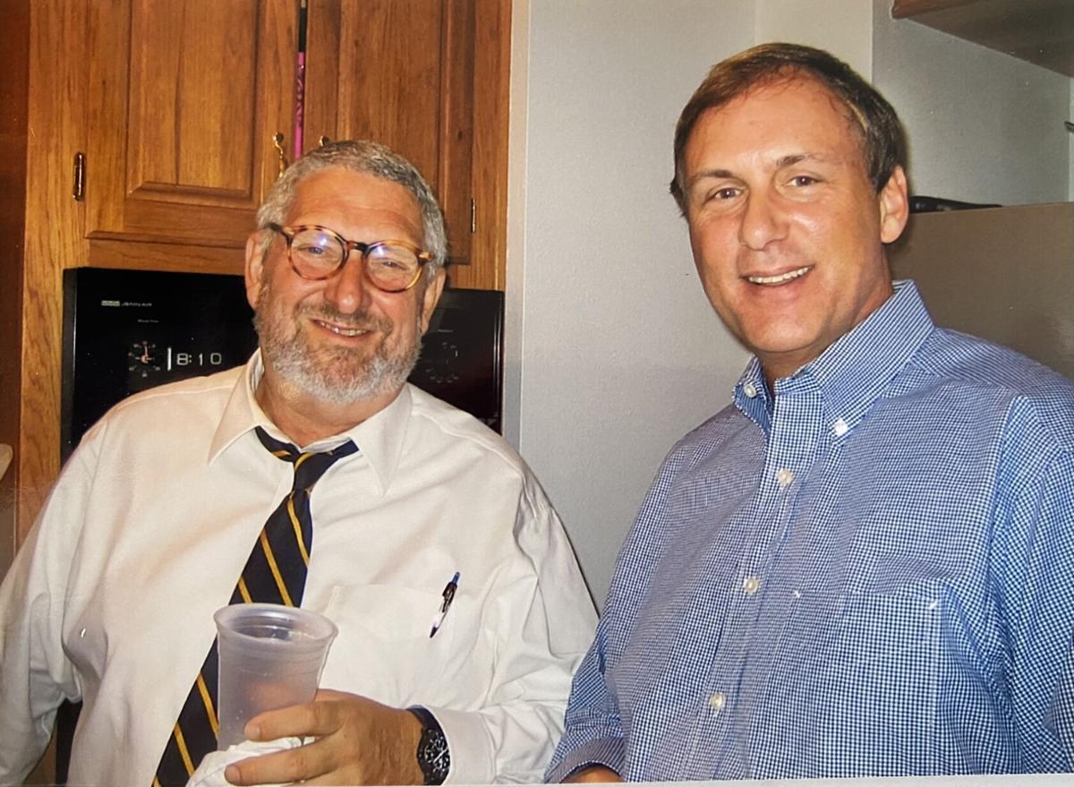Daniel Abel, left, and Eric Paulsen