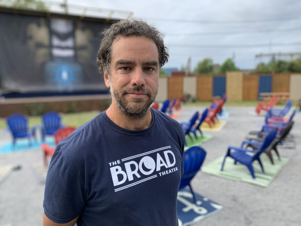 Brian Knighten, owner of the new Broadside outdoor theater.jpeg