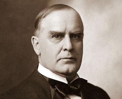 President William McKinley/ Public Domain