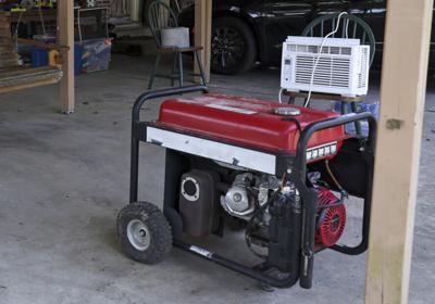 generic generator file photo Hurricane Ida