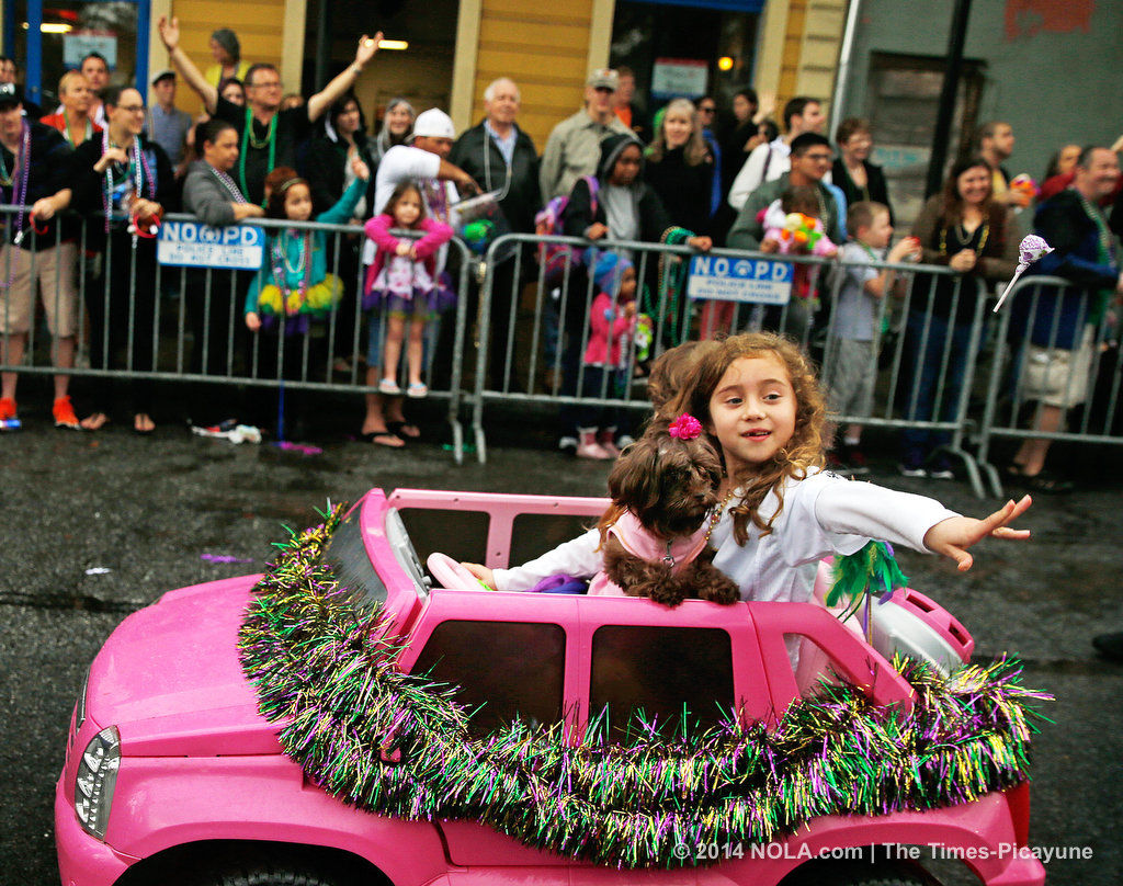 Mardi Gras to shut down French Quarter to all vehicles (copy)