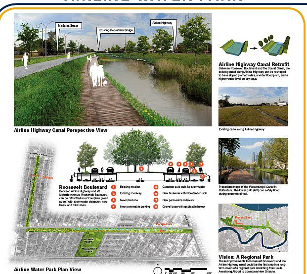 The most popular Jefferson Parish resiliency project proposal is