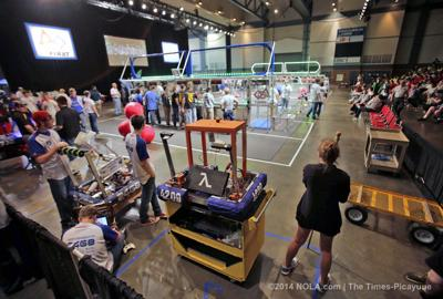 Robotics competition continues Saturday in Kenner
