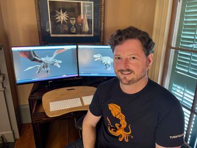 Matt Wisdom, founder and CEO of TurboSquid