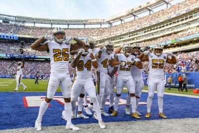 New Orleans Saints to wear color rush uniforms vs. Vikings