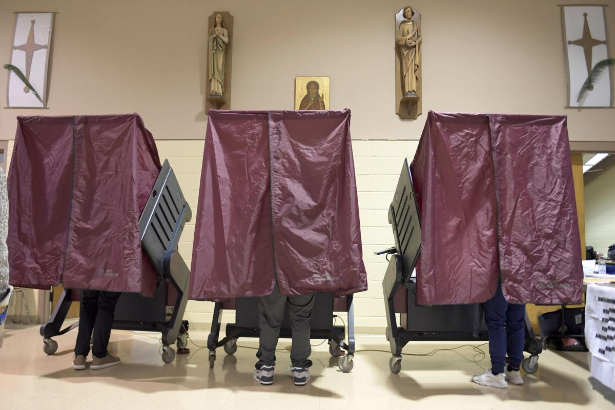 Election day voting in New Orleans