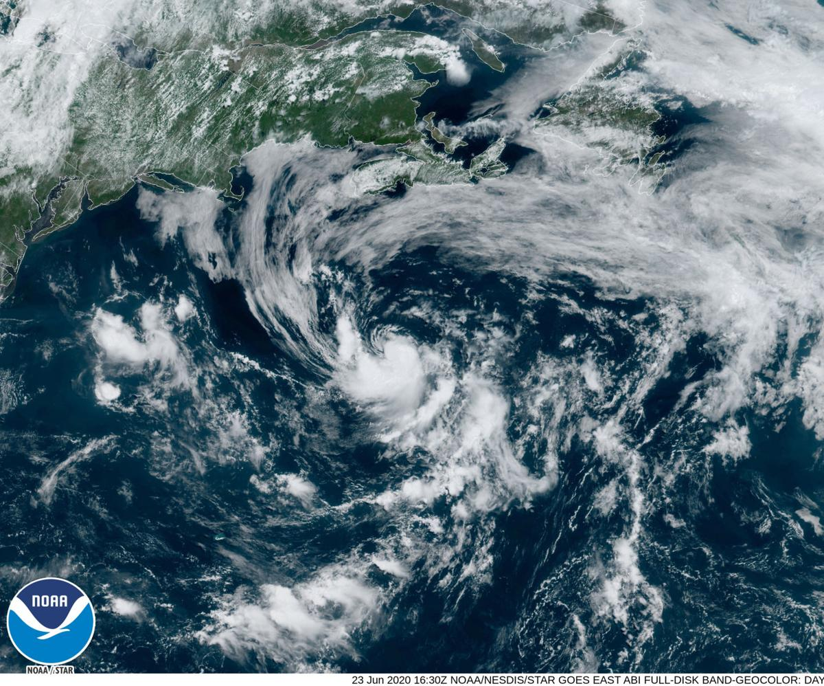 Tropical Storm Dolly Forms In Atlantic Off Canada Coastline Poses No Threat To Land Hurricane Center Nola Com