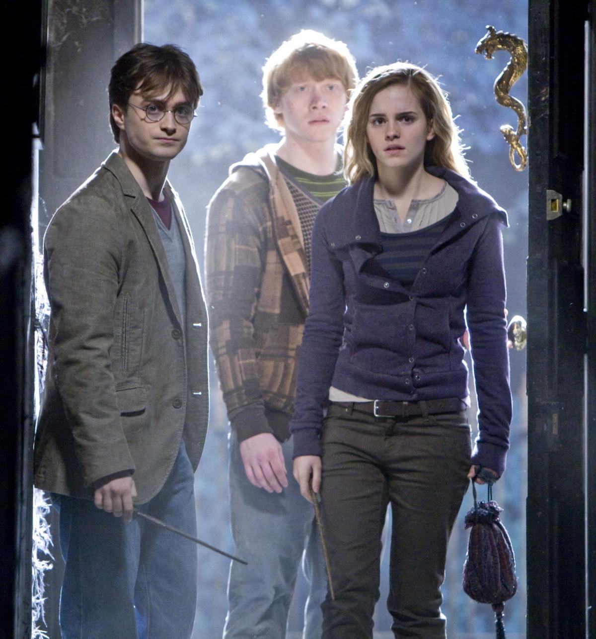 Daniel Radcliff, Rupert Grint, Emma Watson (copy)