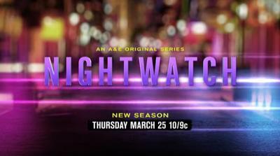 Nighwatch March 25, 2021 premiere date card