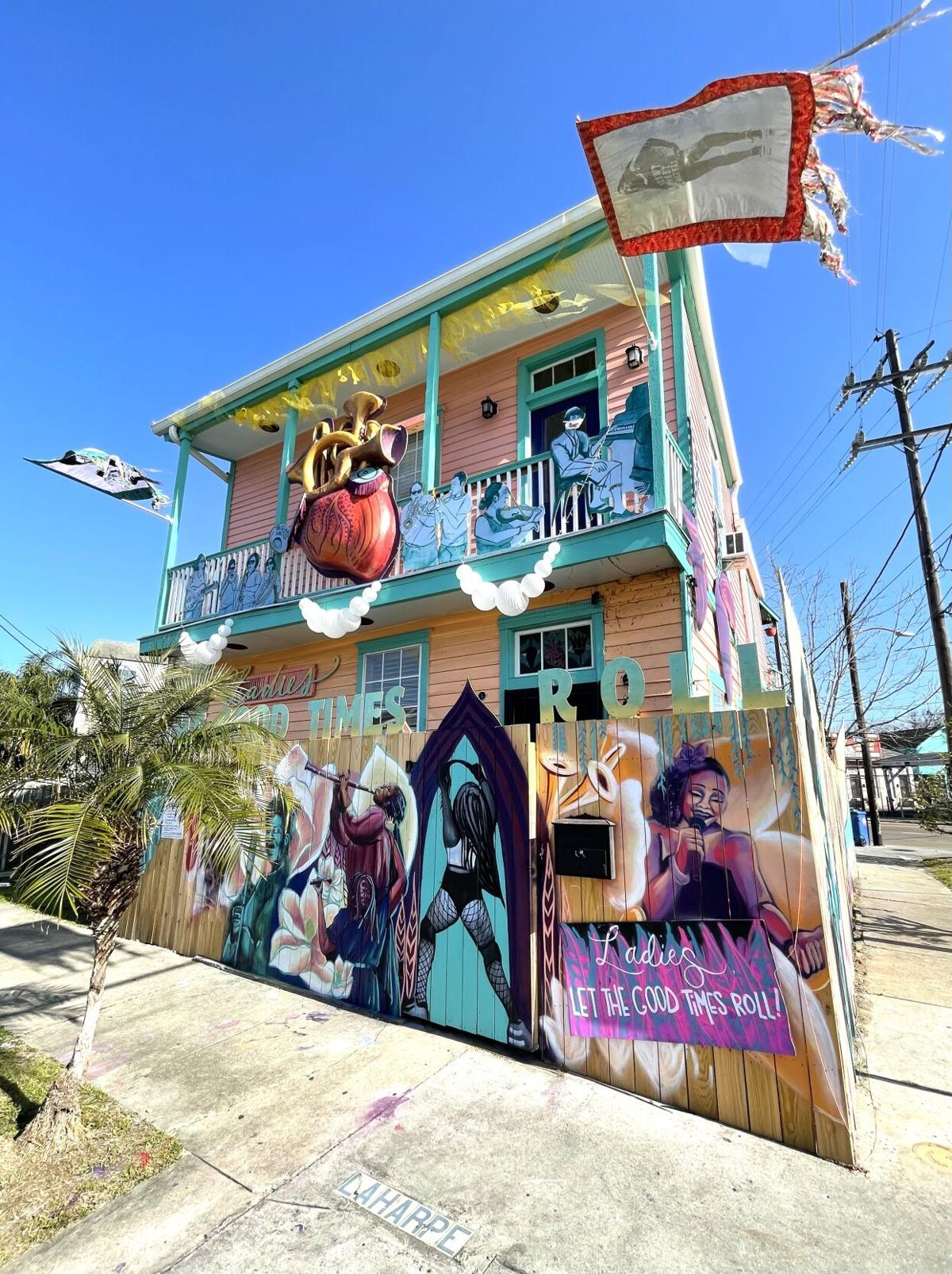 'New Orleans Queens of Sound and Soul' Mardi Gras house float has become a permanent tribute to the women of New Orleans music - 1.jpeg