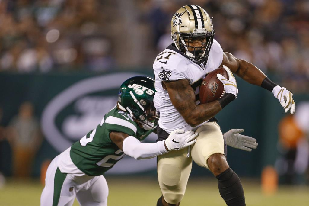 huge selection of 0894c 2e73c Source: Jets safety fined for hit to Saints RB Dwayne ...