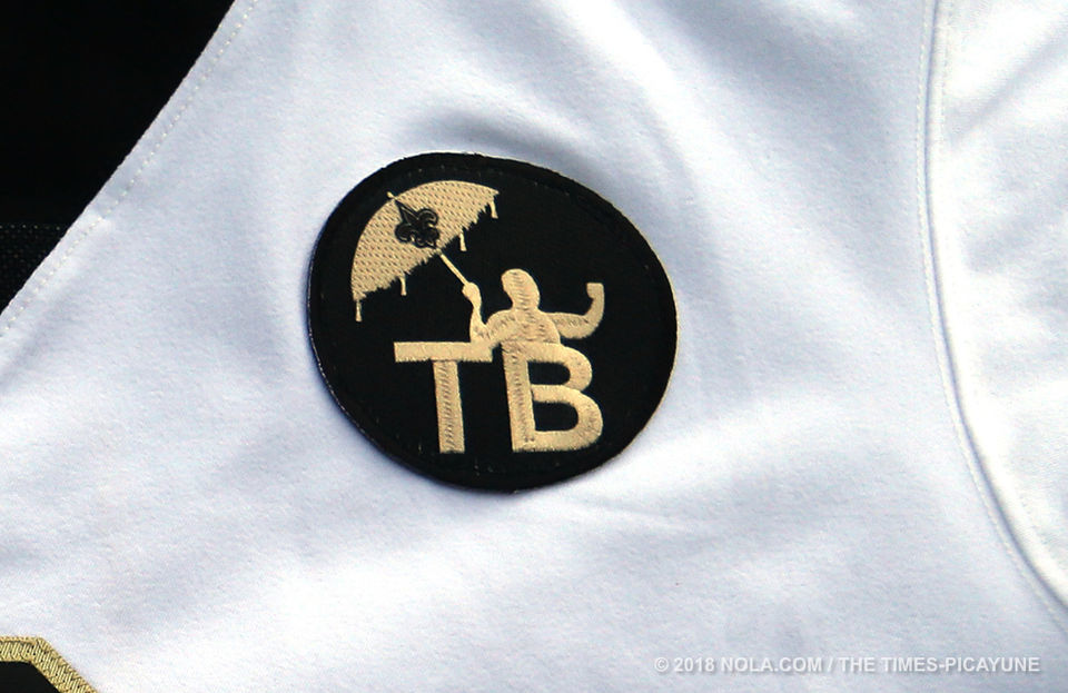 6f1b6392 Saints unveil Tom Benson jersey patch for 2018 season | Saints ...