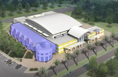 Artist rendering of Harbor Center expansion