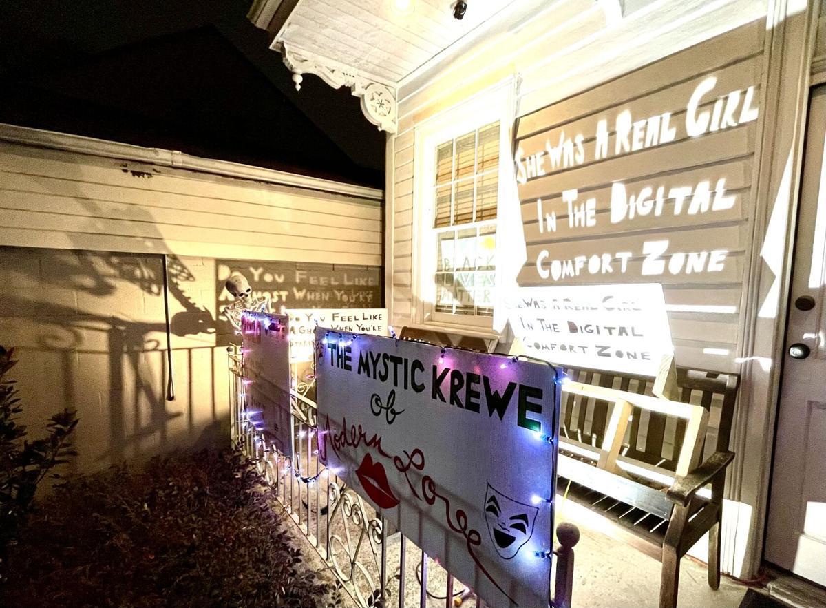 'The Mystic Krewe of Modern Love' Mardi Gras house float, 725 Robert St..jpeg