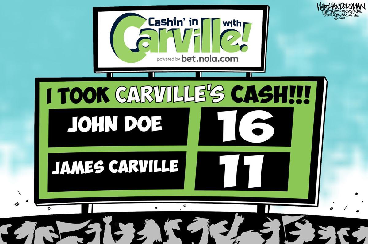 Carville scoreboard
