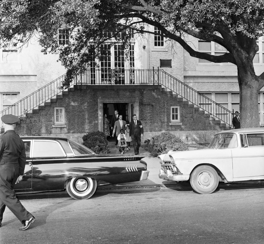 The little girls who desegregated New Orleans schools