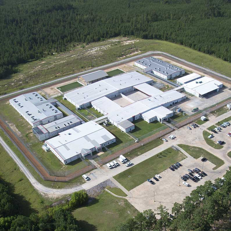 In tiny Jena, immigration debate plays out at largest detention center in the Gulf South