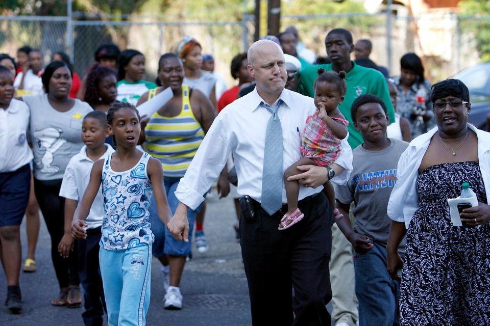 Mitch Landrieu, as he leaves mayor's office, not ruling out presidential run