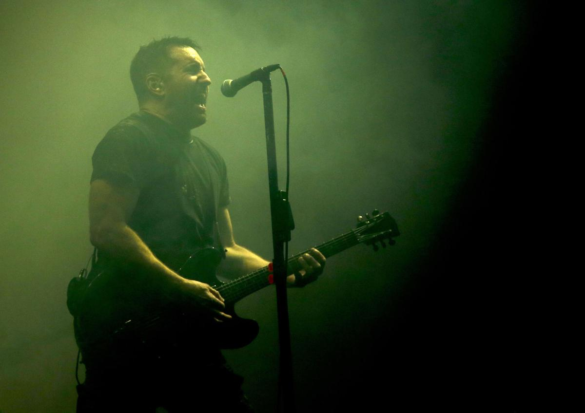 Nine Inch Nails grinding grimly in New Orleans