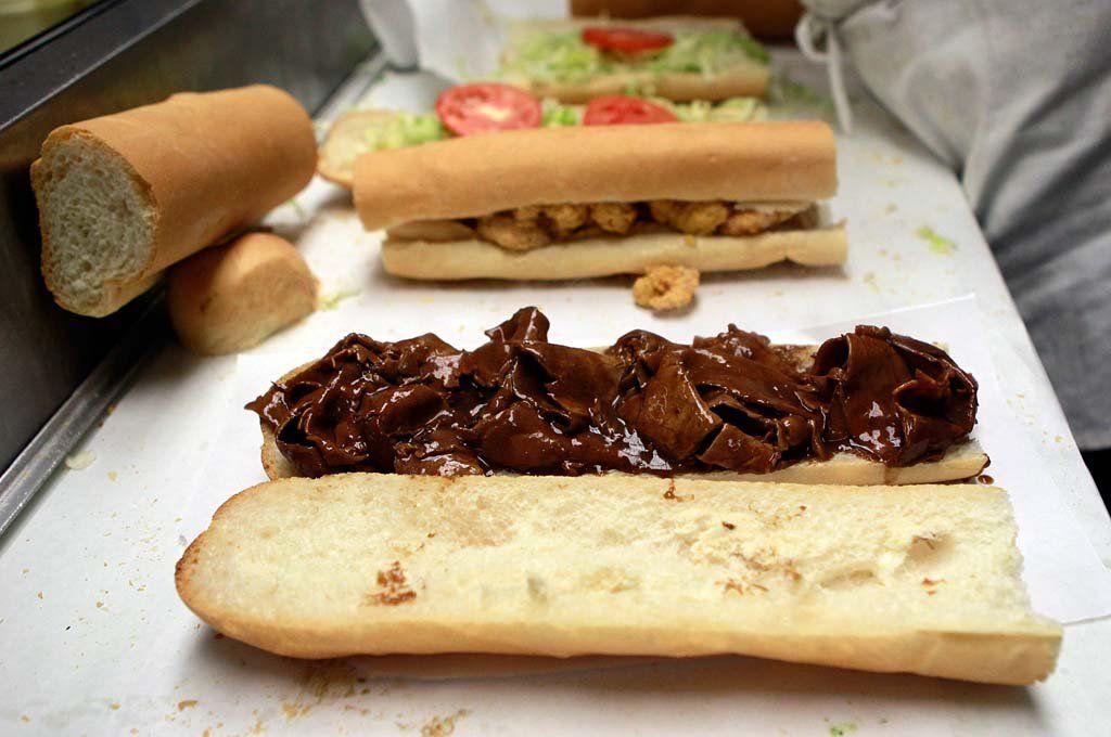 Rocky & Carlo's roast beef po-boy gravy is too good to serve on sandwiches alone