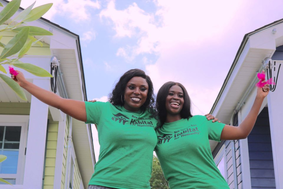 Habitat for Humanity Women Build constructs 2 homes in the Lower Ninth Ward