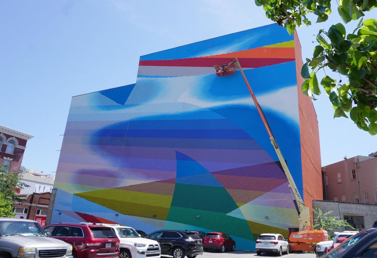 Fantastical Camp Street mural was kind of caused by Jimmy Buffett