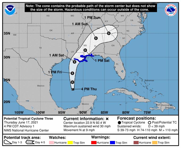 Hurricane 2021 - cover