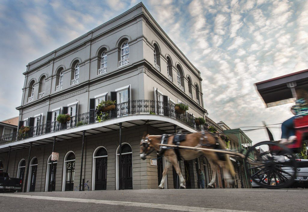 A few ghost stories from New Orleans' grand architecture. Boo!