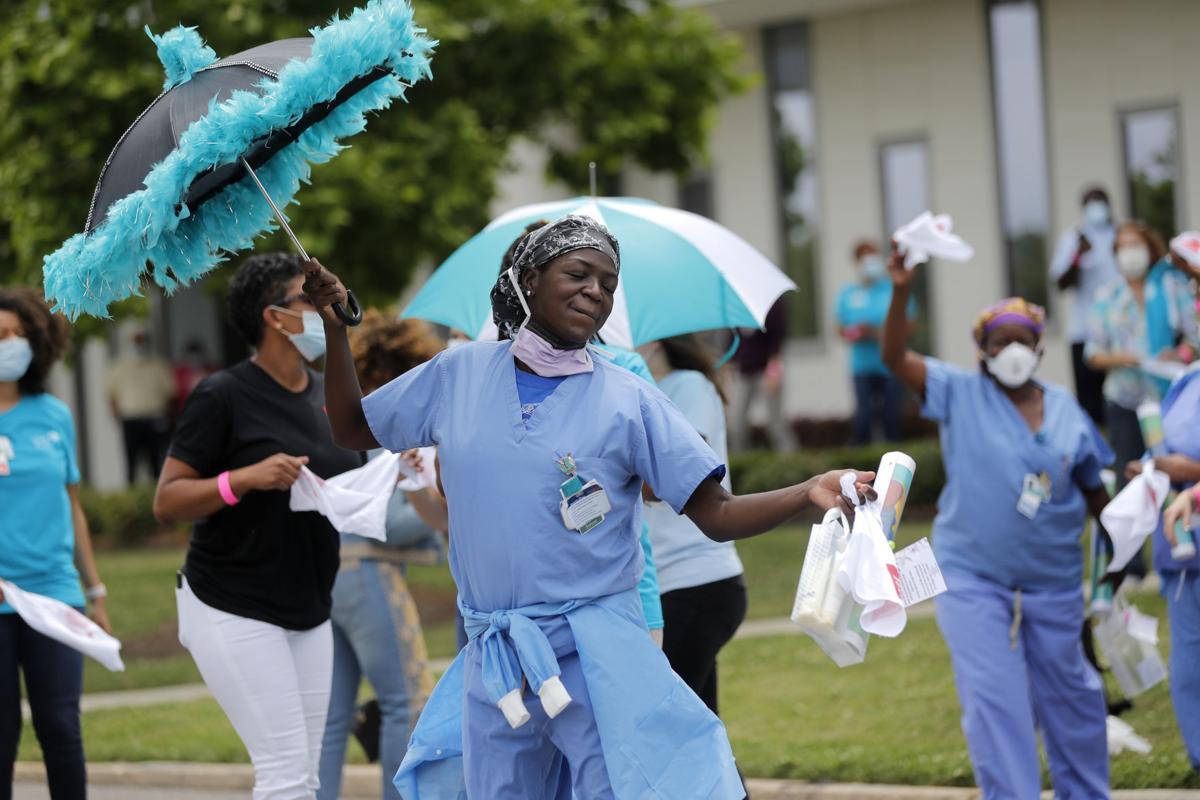 New Orleans coronavirus second line